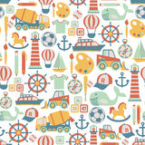 Boy pattern Stock Images