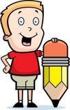 Boy Pencil Stock Images