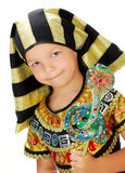 Boy Pharaoh. Boy in carnival costume Egyptian Pharaoh Stock Photography
