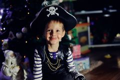 The boy the pirate Royalty Free Stock Photo