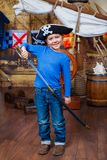 Boy pirate Royalty Free Stock Photos