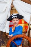 Boy pirate Stock Photo