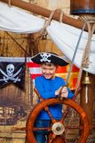 Boy pirate Stock Images