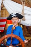 Boy pirate Stock Image