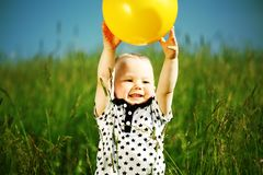 Boy play Royalty Free Stock Images