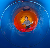 Boy on the playground Stock Photography