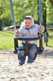 Boy on a playground Royalty Free Stock Photo