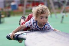 Boy at playground Royalty Free Stock Photos