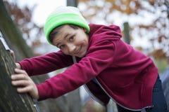 Boy on playground Stock Image