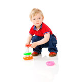 Boy playing Royalty Free Stock Photo