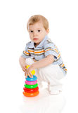 Boy playing Stock Photo