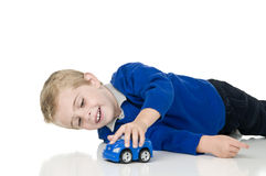 Boy playing Stock Images