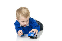 Boy playing Royalty Free Stock Photography