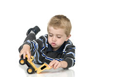Boy playing Stock Photography
