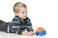 Boy playing Royalty Free Stock Image