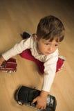 Boy Playing Stock Photos