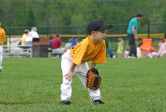 Boy Playing Ball Stock Photos