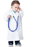 Boy playing doctor Royalty Free Stock Photography