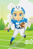 Boy playing football Stock Photography