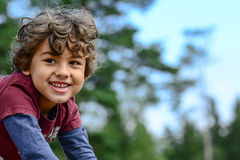 Boy playing Stock Photo
