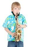 Boy plays Royalty Free Stock Photos