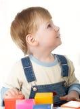 Boy plays Royalty Free Stock Photo
