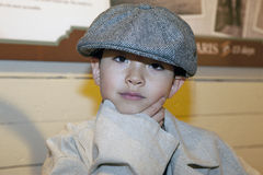 Boy plays dress up. Royalty Free Stock Photos