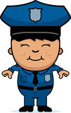 Boy Police Officer Royalty Free Stock Photography