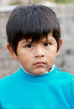 Boy Portrait At The Street Royalty Free Stock Photo