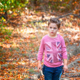 Boy portrait outdoor Royalty Free Stock Image