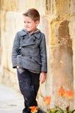 Boy portrait outdoors Stock Photo