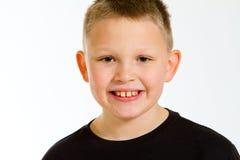 Boy Portrait in Studio Stock Images