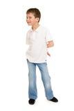 Boy portrait in studio isolated Stock Photography