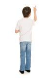 Boy portrait in studio isolated Stock Photos