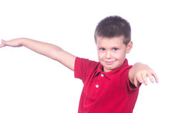 Boy posing Royalty Free Stock Images