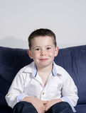Boy posing Stock Photos