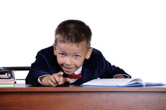 Boy prodigy Stock Images