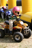 Boy on Quad Royalty Free Stock Photos