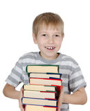 The boy reads the book Stock Images
