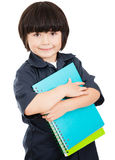 Boy ready for school Royalty Free Stock Images