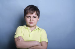 Boy ready to cry Royalty Free Stock Images