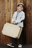 Boy ready for vacation Royalty Free Stock Photos