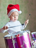 The boy in red cap Royalty Free Stock Images