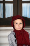 Boy in a red cap Stock Images