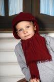 Boy in a red cap Stock Photos