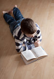 Boy reeding book Stock Photo