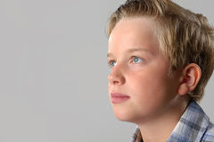 Boy is relaxed Royalty Free Stock Images