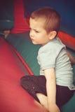 Boy resting Stock Photos