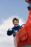 Boy on a ride Royalty Free Stock Photo