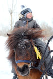 Boy riding Royalty Free Stock Photo